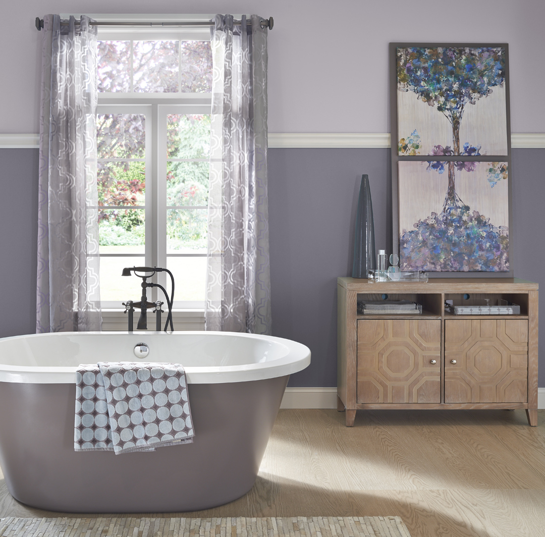 Calming Bathroom Ideas And Inspirational Paint Colors
