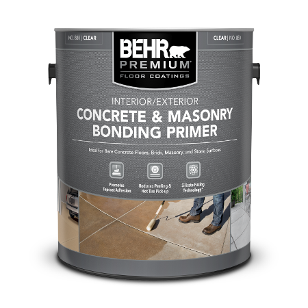 Can of interior/exterior concrete & masonry bonding primer