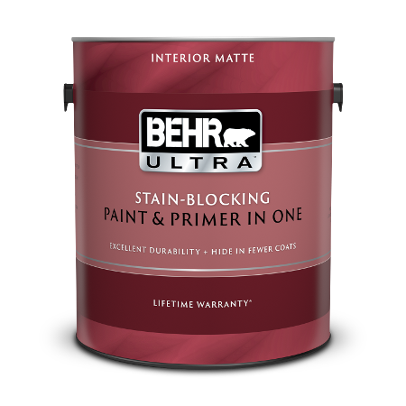 1 gallon can of BEHR Ultra Interior Matte