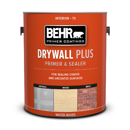 Can of drywall plus primer & sealer