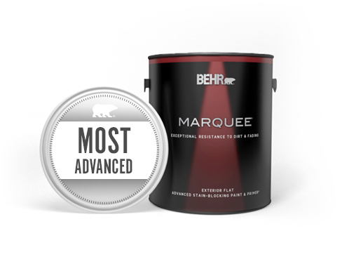Can of Marquee Exterior Paint with Most Advanced seal